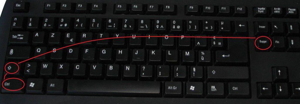 Supprimer le cache navigateur : Ctrl + Shift + Suppr
