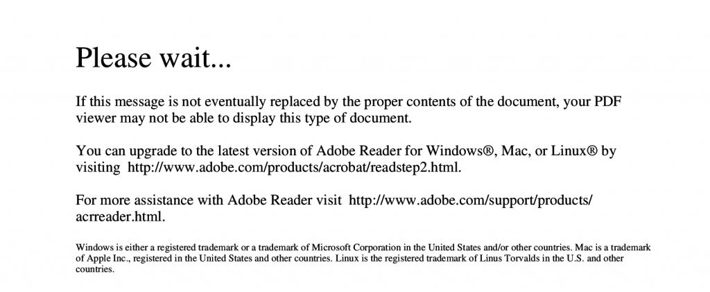 Erreur Adobe PDF sur Linux