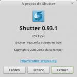 A propos de Shutter sur Linux