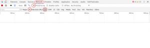 "Activer ""preserve log"" sur Chrome"