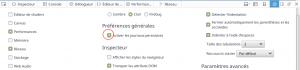 Activer préserve log sur Firefox