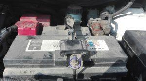 Démonter batterie Toyota Yaris