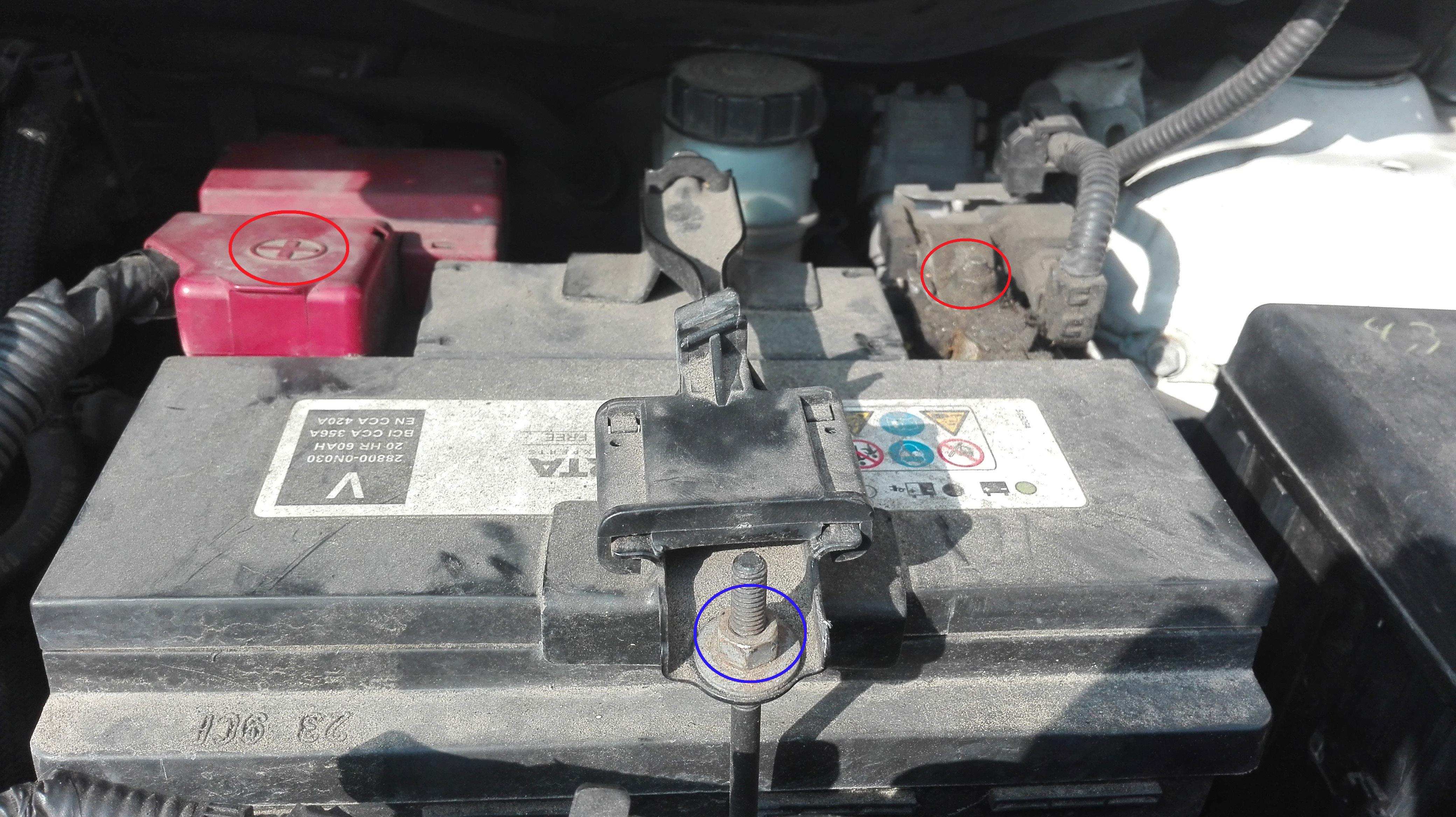 batterie voiture yaris