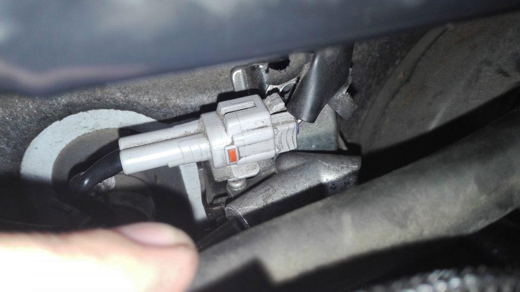 connecteur du filtre à gasoil